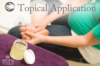 Essential Oil Topical Application