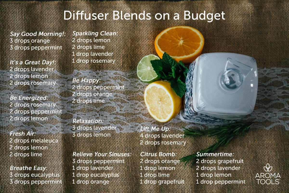 diffuser blends on a budget aromatools blog