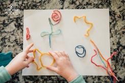 Flexible Beeswax Yarn Art