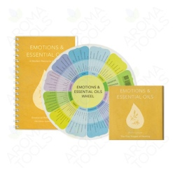 Emotions & Essential Oils Set: Book, CD, and Wheel